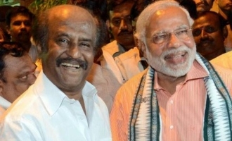 Superstar Rajnikanth invited for Modi swearing in!