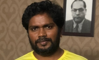 Interesting first look of Pa Ranjith's next movie launched!