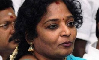 Tamilisai Soundarajan visits auto driver who questioned fuel price hike