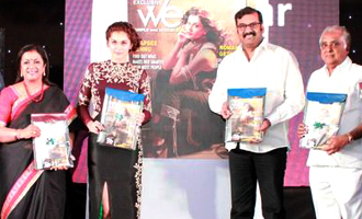 Tapsee at 10th Year We Magazine Ceremony