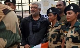 Thala Ajith meets army at India-Pakistan border, mass photos storm the internet
