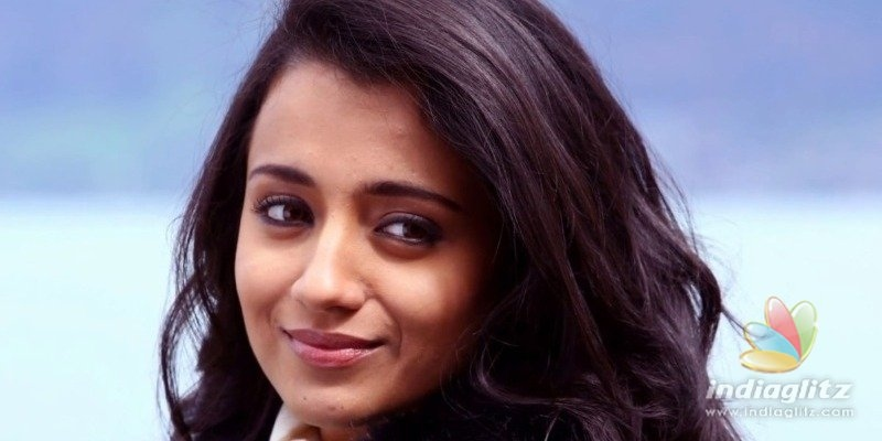 Trisha officially confirms walking out of mega film