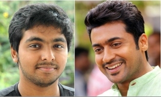 G.V. Prakash gives a rocking update on Suriya's next