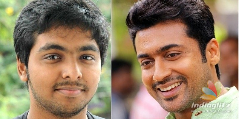 G.V. Prakash gives a rocking update on Suriyas next