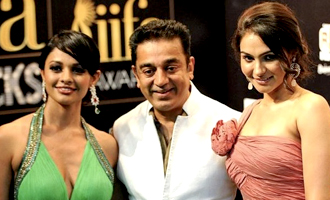 Kamal Haasan, Pooja Kumar and Andrea Fly Abroad