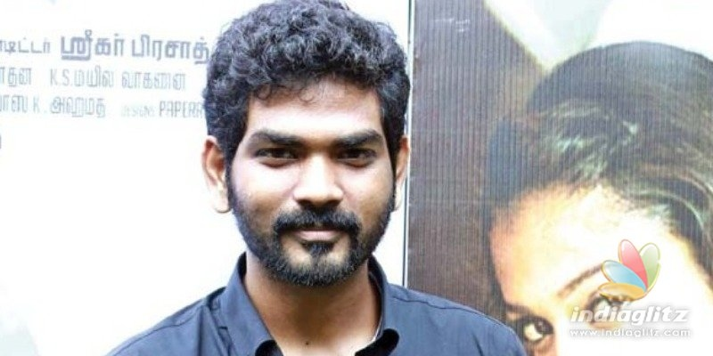 Whoa! Vignesh Shivan meets one of Hollywoods all time greats