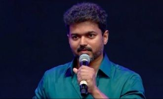Thalapathy Vijay's request to fans on 'Sarkar' release - video