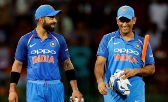 Virat Kohli expresses his feelings about Dhoni mentoring Team India for T20 World Cup