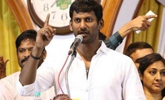 High court takes decision against Vishal