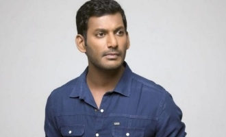 Vishal's directorial debut officially announced