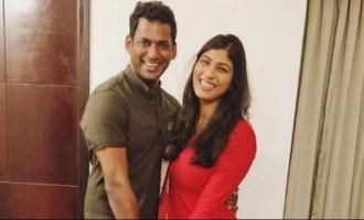 Anisha Reddy's video shocks Vishal