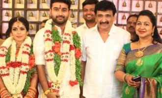 Celebs at Ramesh Kanna's Son Wedding