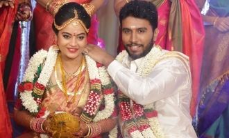 Suja Varunee gets married