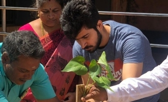 "Harish Kalyan's ""Go Green"" social awareness"