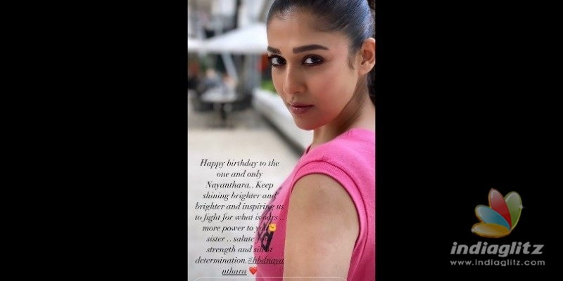More power to you sister - Samanthas wish to Nayanthara!