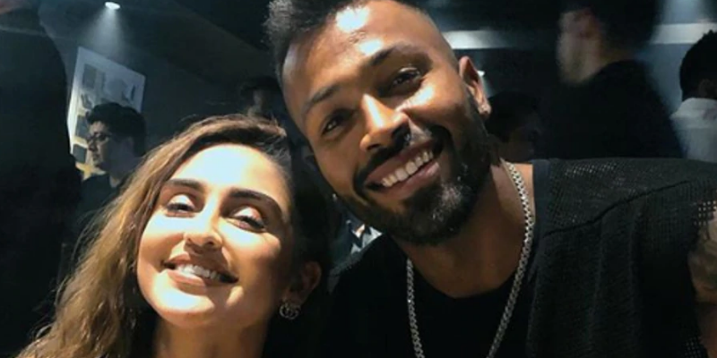 Actress pulls Hardik Pandya into yet another controversy