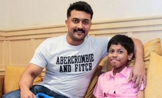 Suriya inspires a differently abled boy to follow his dreams!