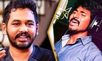 Sivakarthikeyan to Sing in his Next ? : Hip Hop Adhi Reveals