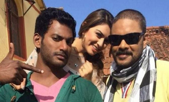 'Aambala' movie on location