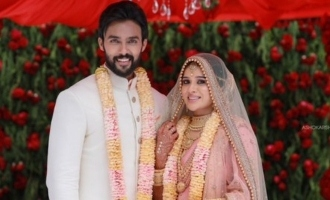 Aarav gets married to actress Raahei - Bigg Boss housemates attend