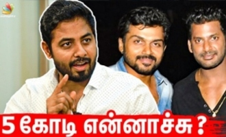 The Mistakes Nasser and Karthi made - Actor Aari Interview