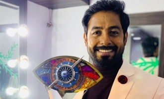 Aari Arujunan's first social media post after Bigg Boss 4 win!