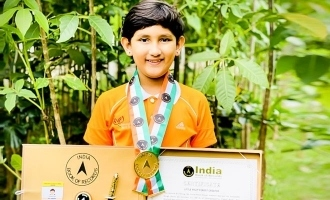 Aari salutes 7 year old environmental achiever Prasiddhi Singh on Republic Day