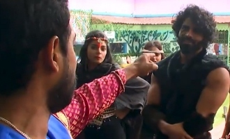Bigg Boss 4 Aari fights with Balaji, lashes out at other housemates!