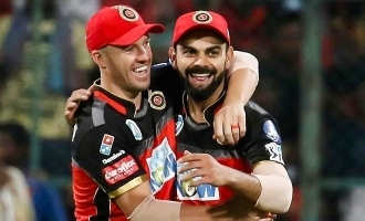 AB de villiers turns 36 Virat kohli leads the wishes