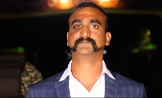 Abhinandan's first words upon arrival at India