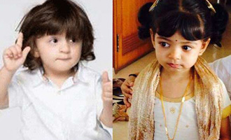 Aishwarya's daughter & SRK's son have become a pair already!?