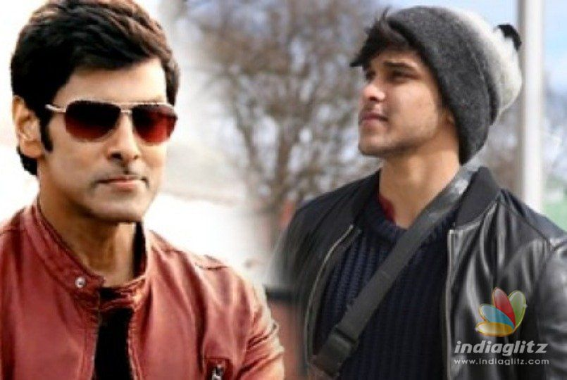 Vikram's son Dhruv involved in a vehicle  accident