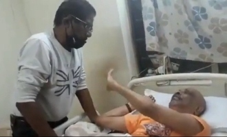 Ennuyir Thozhan hero Babu ask help to Bharathiraja