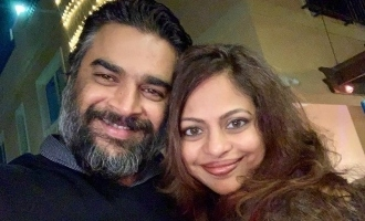 Madhavan posts a loving note to his wife on wedding anniversary