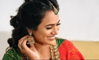 Ramya Pandian's queenly photoshoot video raises temperature on the internet