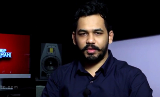 Hip Hop Tamizha Adhi talks about 'Thani Oruvan'