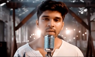 Dhruv Vikram shines in first singing attempt for Adithya Varma!
