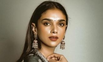 Aditi Rao Hydari joins this exciting bilingual movie!