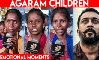 My mom should go on flight - Agaram Children emotional speech