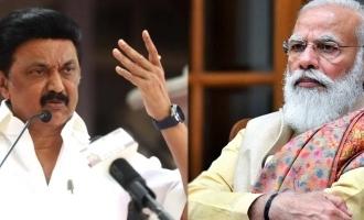 madurai aiims hospital tn cm mk stalin writes a letter to pm narendramodi