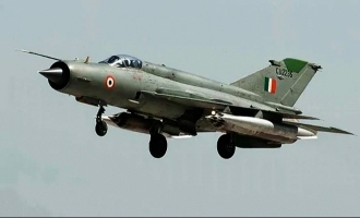 Another IAF fighter jet crashes