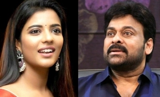 Chiranjeevi's surprise for Aishwarya Rajesh!