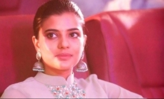 Nivar cyclone forces Aishwarya Rajesh to take public transport