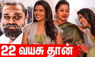 Am acting as VJS sister - Aishwarya Rajesh interview
