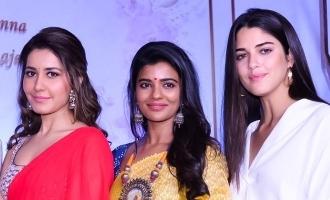 ஐஸ்வர்யா ராஜேஷ், ராஷிகண்ணா, கேதரின் தெரசா இணைந்து நடிக்கும் படத்தின் டைட்டில்!