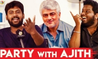 Party With Ajith : Rio & RJ Vigneshkanth Opens Up