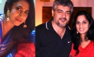 Kasthuri's request to Thala Ajith and Shalini
