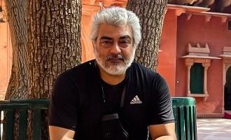 Thala Ajith raises desert storm with latest biker mode photo