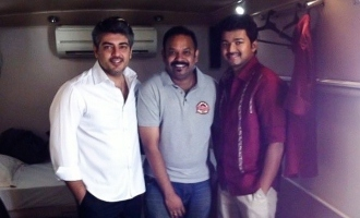 Siblings Day special ! Thala-Thalapathy bonding pic released by Venkat Prabhu