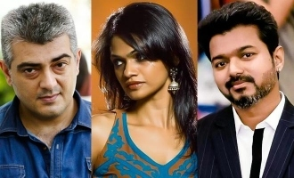 Suchitra shares unknown Thala-Thalapathy secret